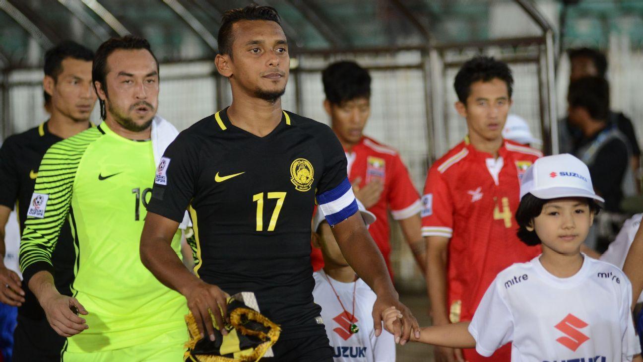 Malaysia captain Amri Yahyah v Myanmar
