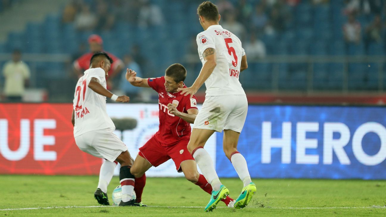 The last time NorthEast United met Delhi, Emiliano Alfaro scored the equaliser in a 1-1 draw.