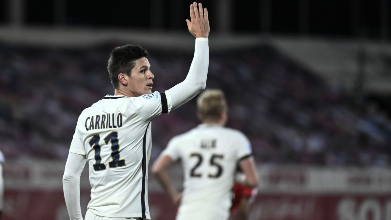 Guido Carrillo put Monaco ahead early.