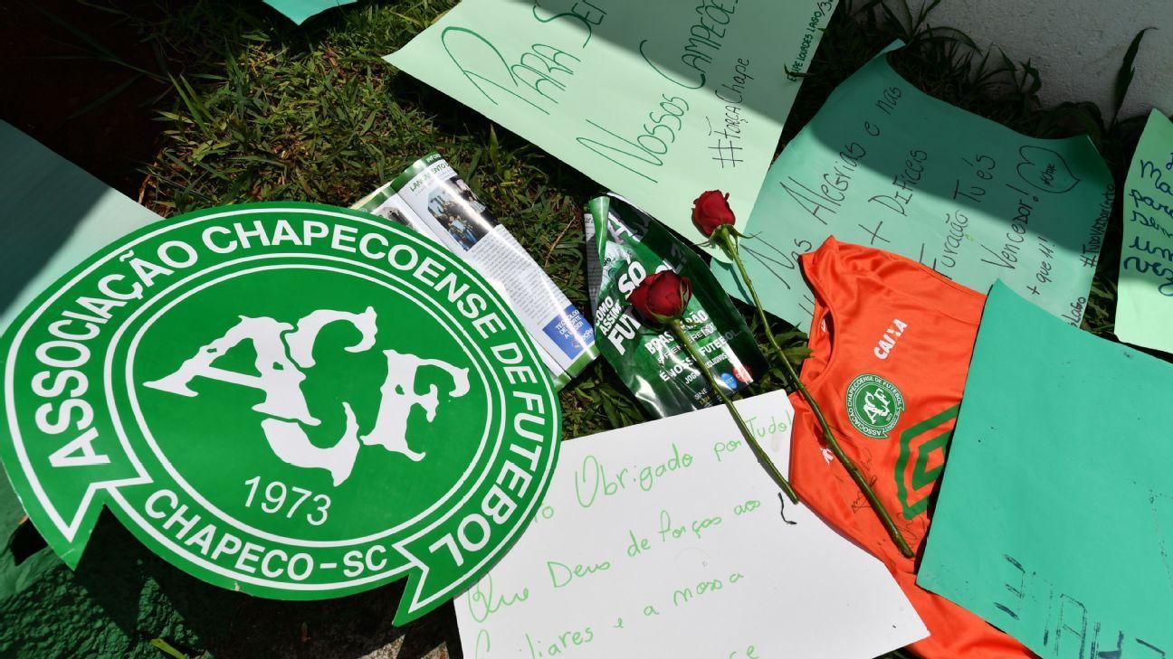 Chapecoense tribute
