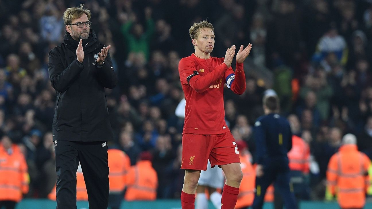 Liverpool captain Lucas Leiva