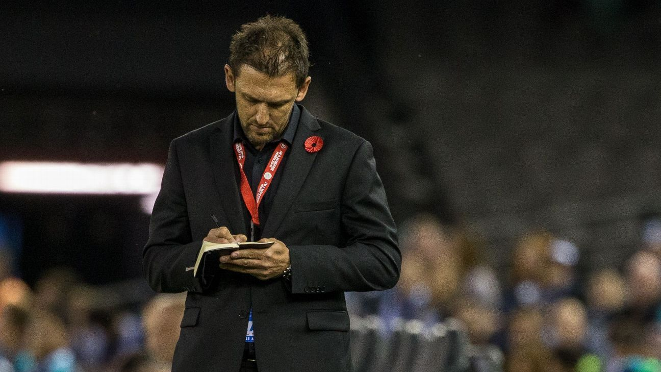 Western Sydney coach Tony Popovic