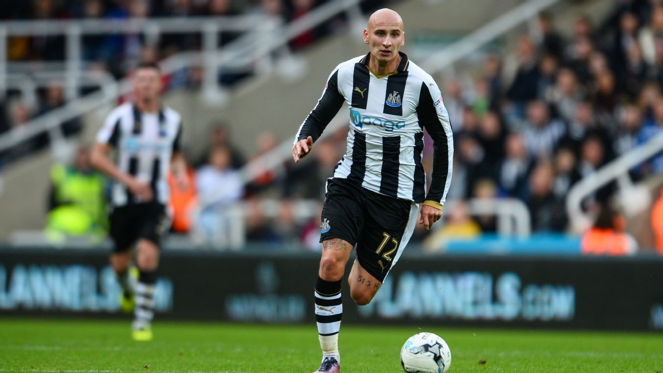 Jonjo Shelvey has become a key player for Newcastle United under Rafa Benitez.