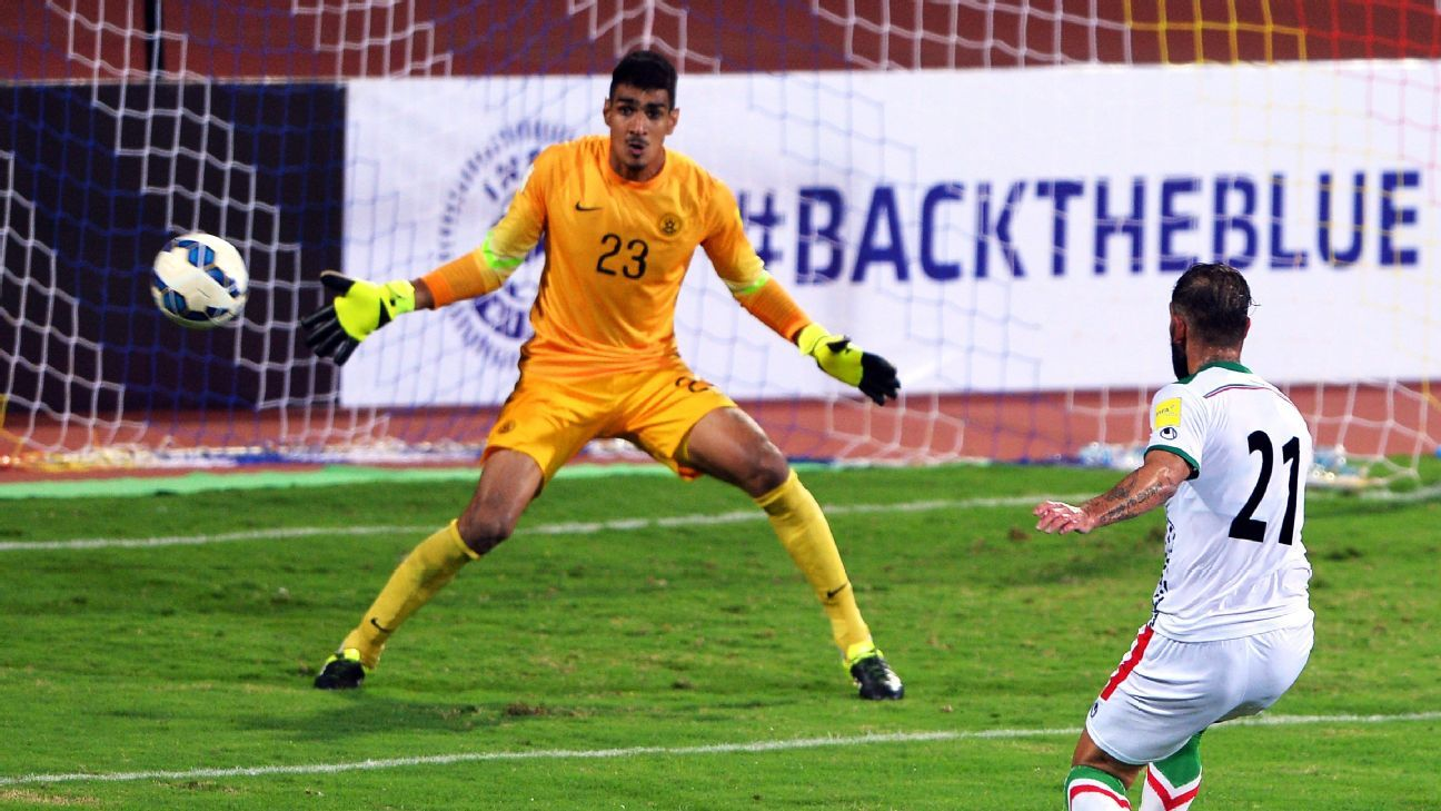 India goalkeeper Gupreet Singh Sandhu