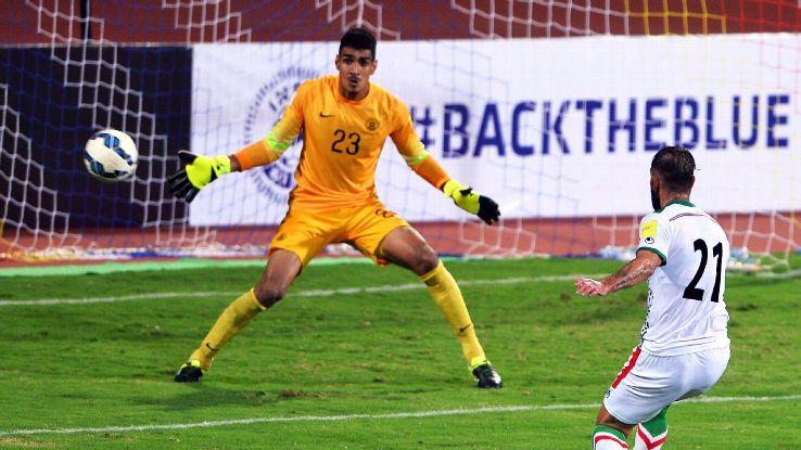 India goalkeeper Gupreet Singh Sandhu