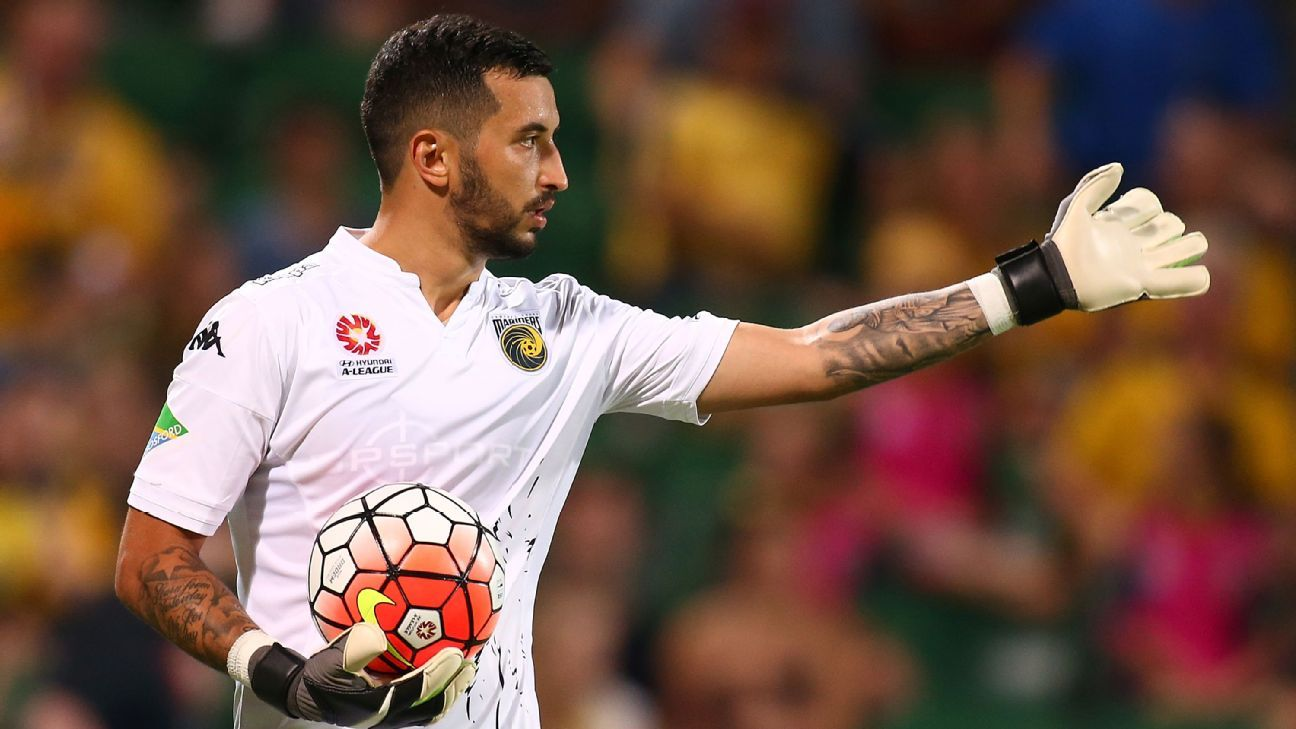 Central Coast Mariners' Paul Izzo