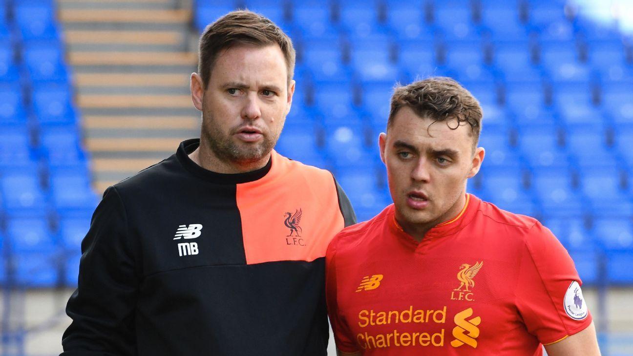 Michael Beale Liverpool U23
