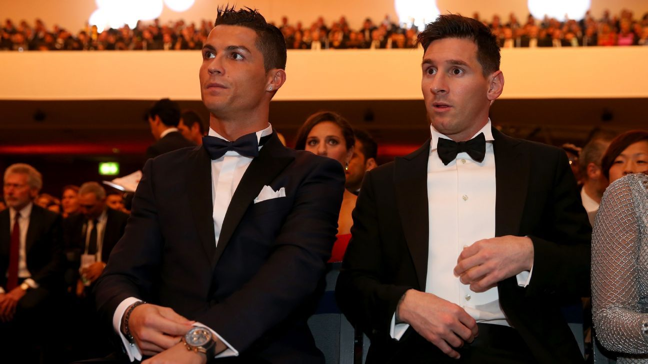 Cristiano Ronaldo and Lionel Messi finally have rivals for the Ballon d'Or