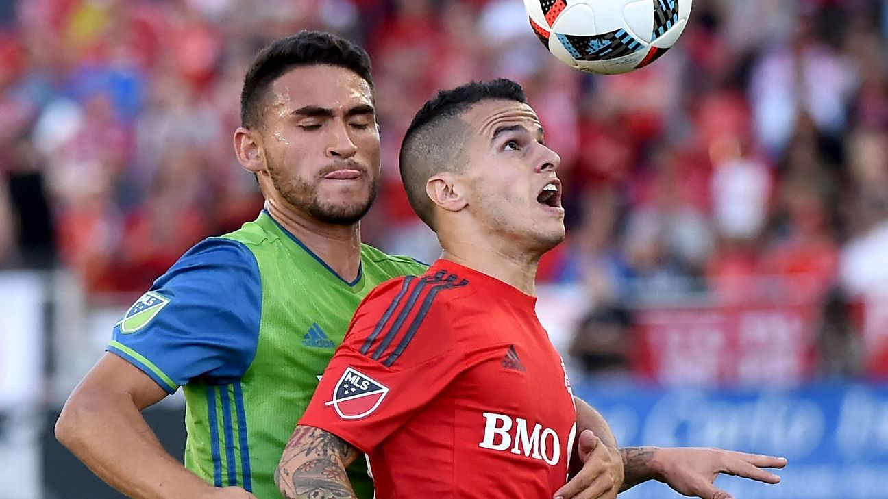 Cristian Roldan and Sebastian Giovinco