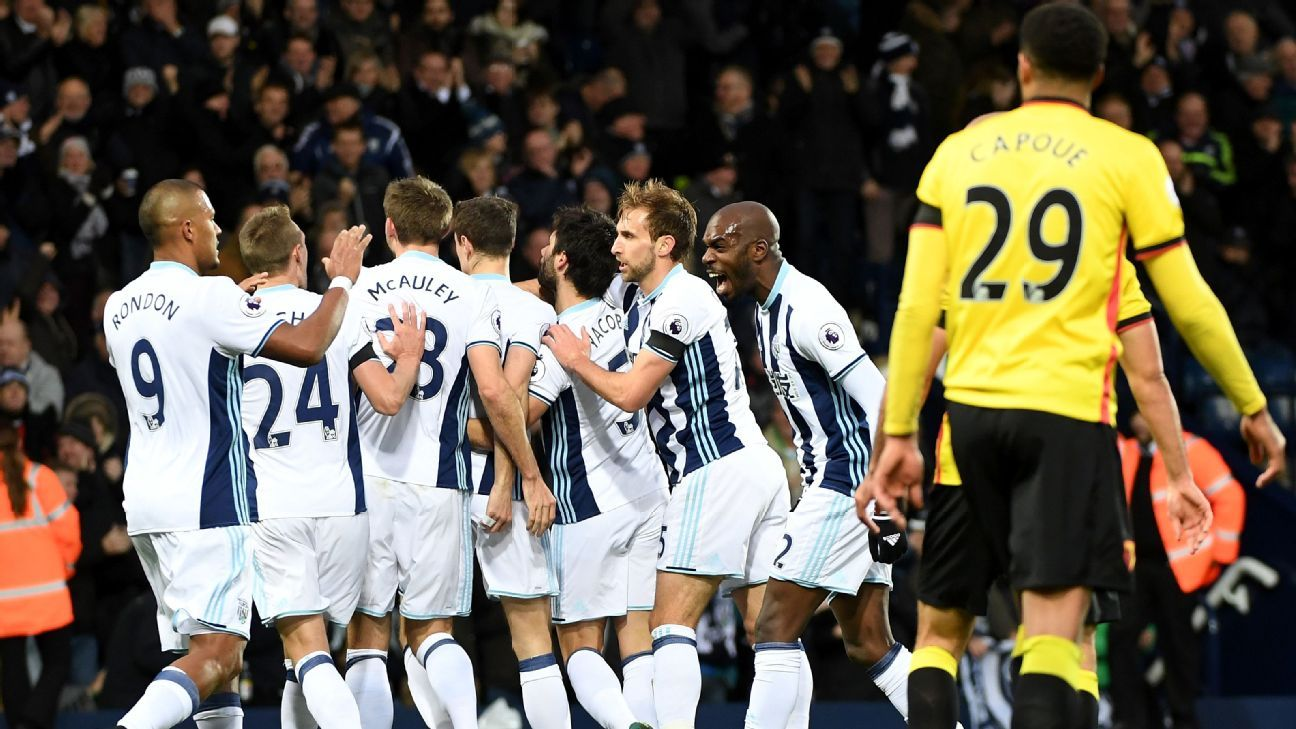 Jonny Evans opened the scoring for West Brom.