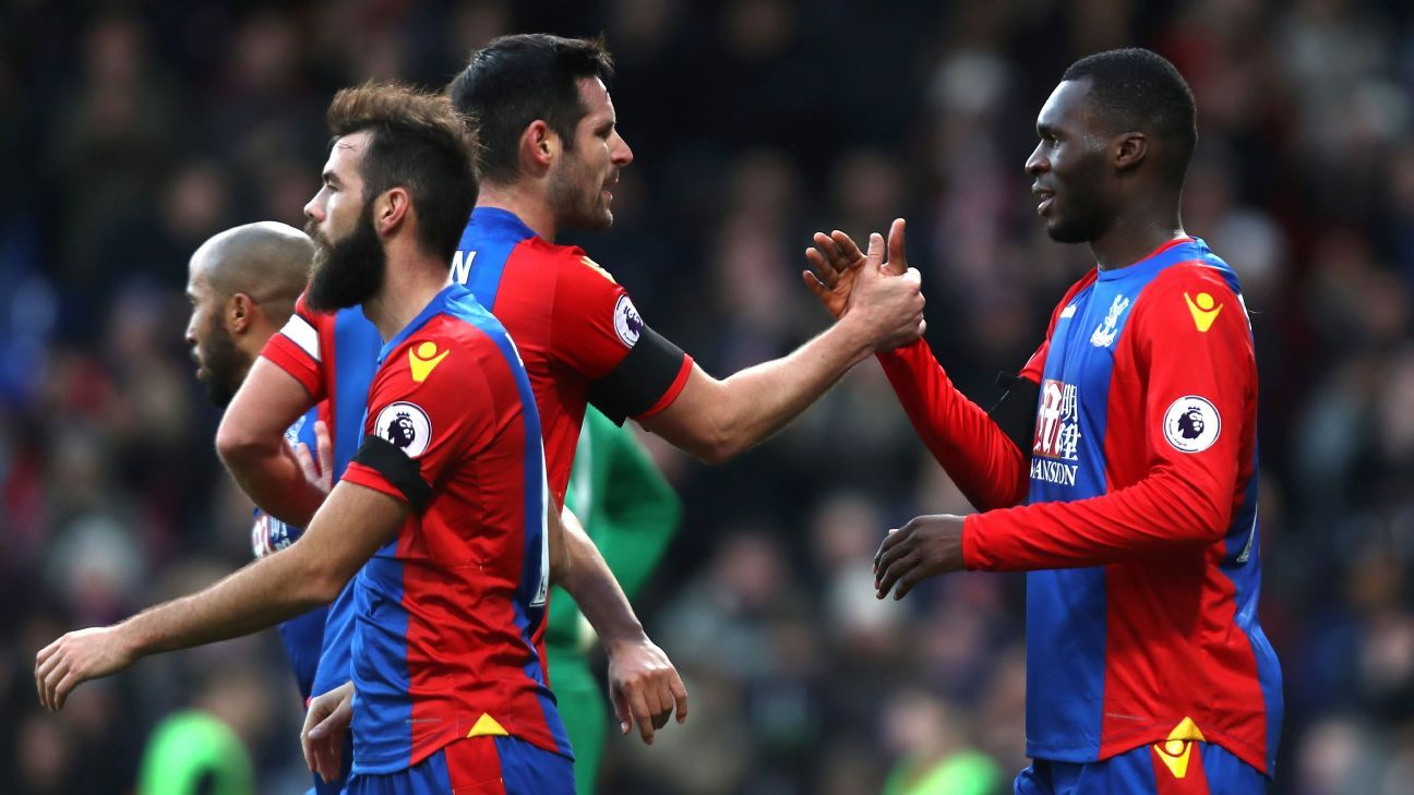 Christian Benteke scored a brace against Southampton.