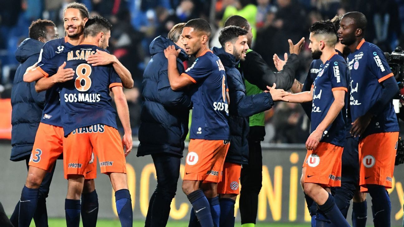Montpellier dealt PSG their biggest Ligue 1 defeat since 2011.