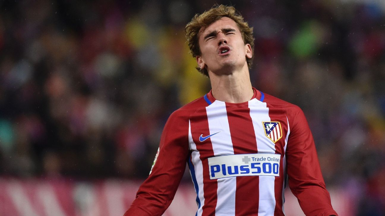 Antoine Griezmann could not find the breakthrough for Atletico.