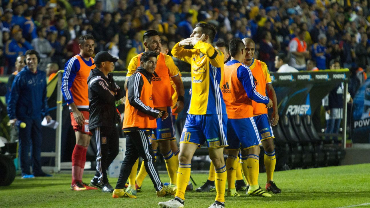 Andre-Pierre Gignac has been in fine form for Tigres during the liguilla, scoring five times in his past three starts.