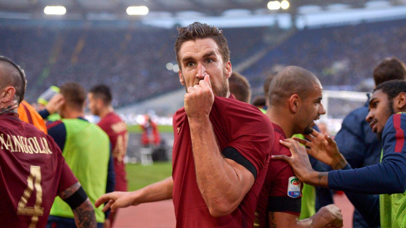 Kevin Strootman celeb Roma 20161204
