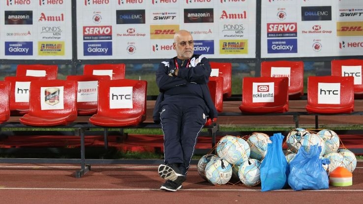 NorthEast entered on a long winless streak after coach Nelo Vingada shuffled the team formation a bit.
