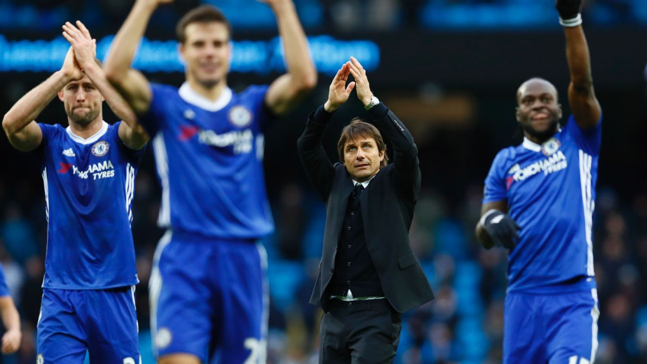 Are Antonio Conte's men about to run away from the other contenders in the chase for the Premier League title?