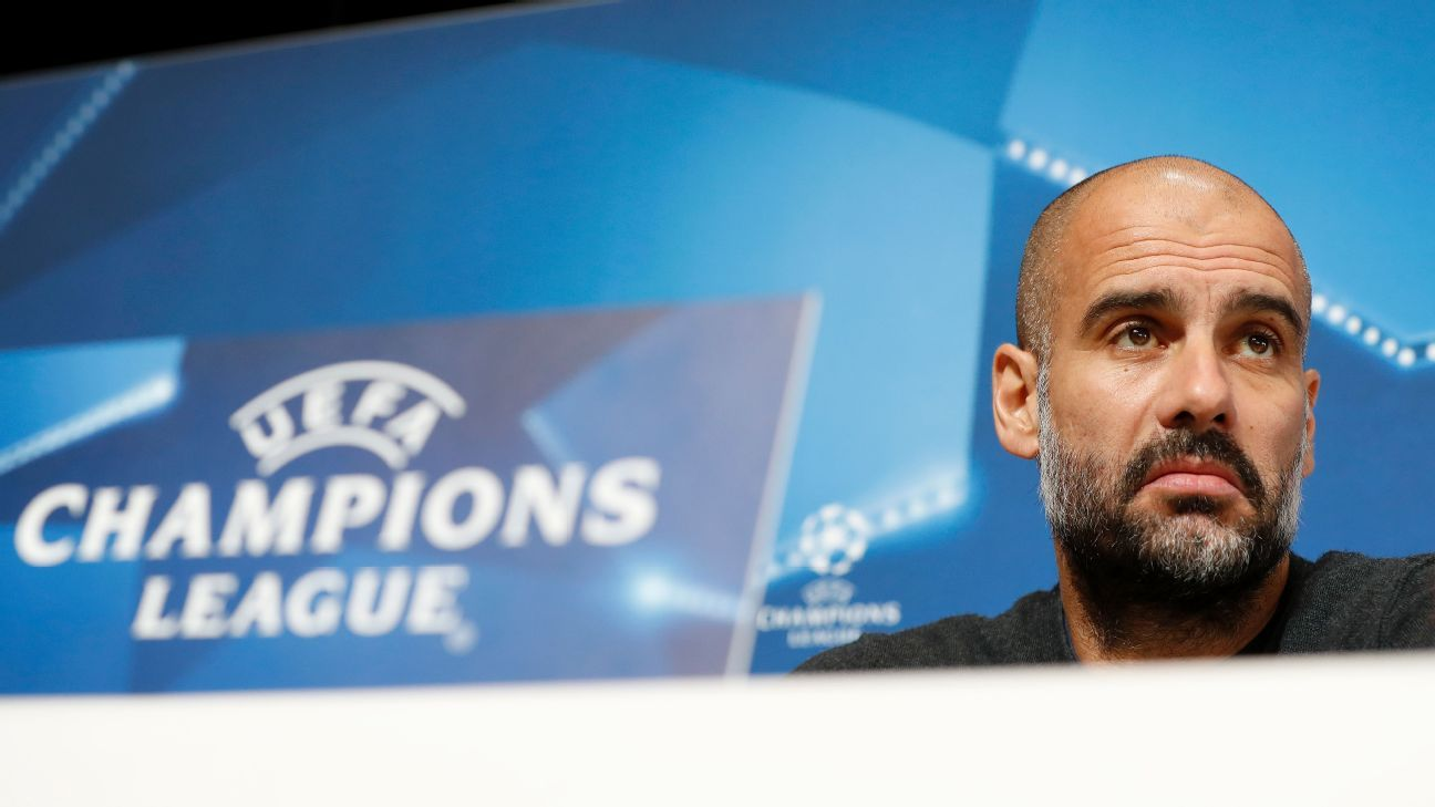 Pep Guardiola's ultimate aim is to deliver the Champions League to Manchester City.
