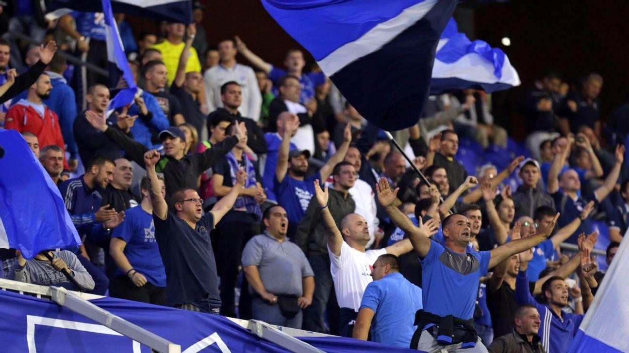 Dinamo Zagreb fans