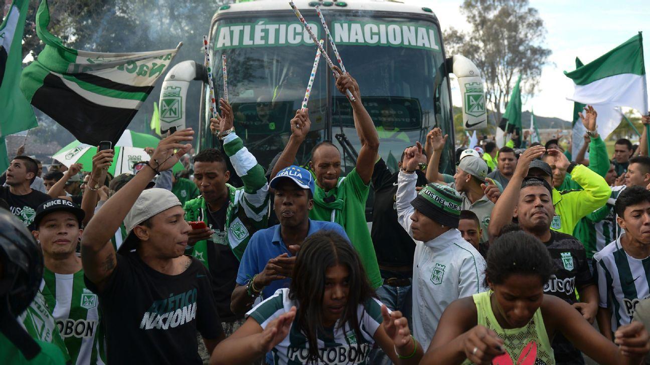 Atletico Nacional supporters