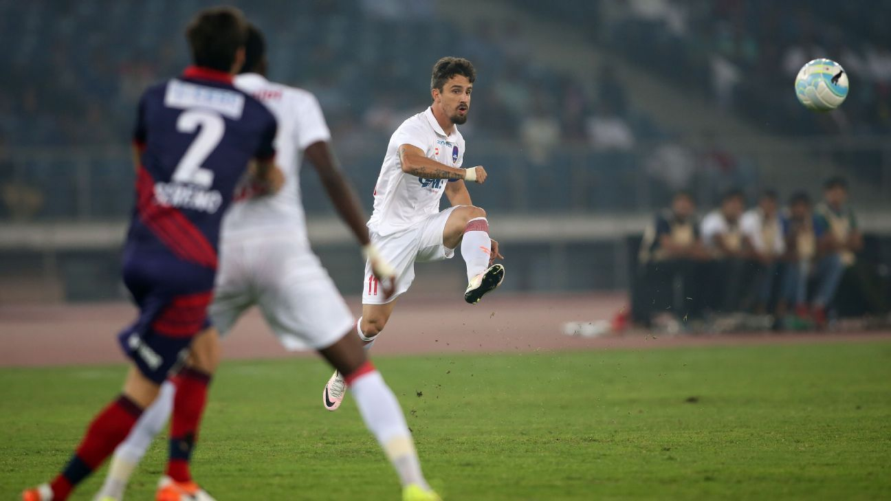 Marcelinho has contributed to over half of Delhi Dynamos' goals this season.