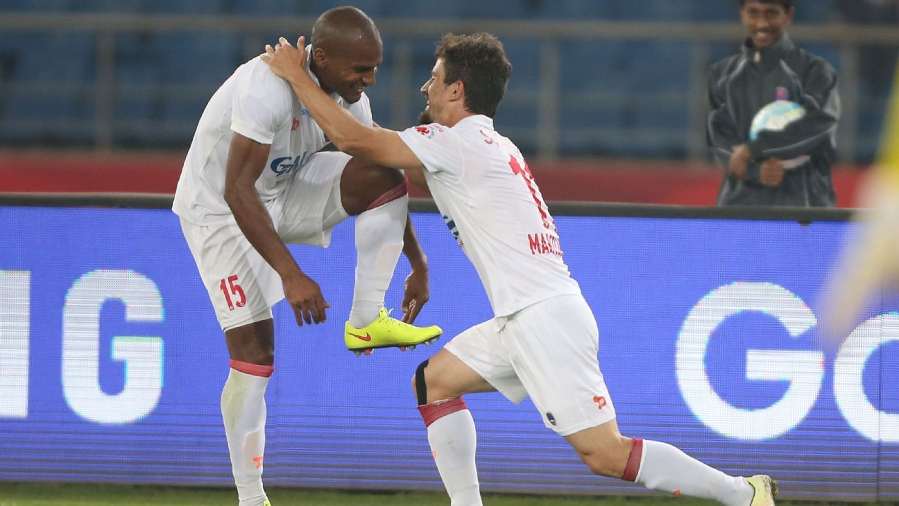 Marcelinho and Malouda have accounted for 19 of Delhi's 27 goals.