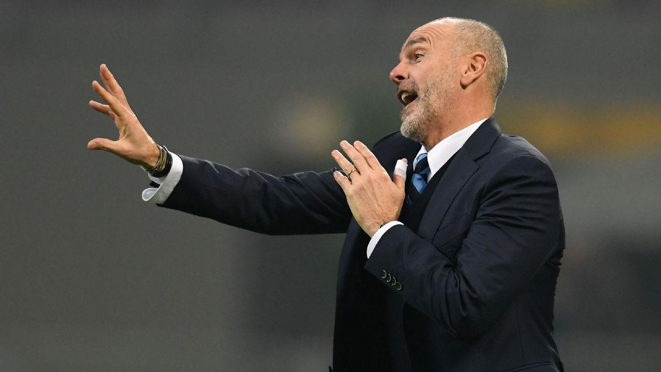 Inter Milan coach Stefano Pioli