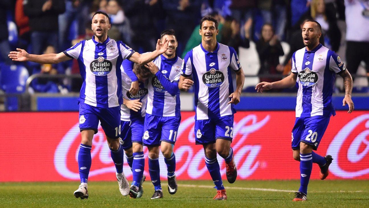 Deportivo La Coruna celeb