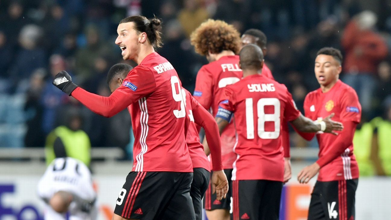 Zlatan Ibrahimovic and Manchester United are better than their record suggests, but more must be done to make a run to the top of the table.