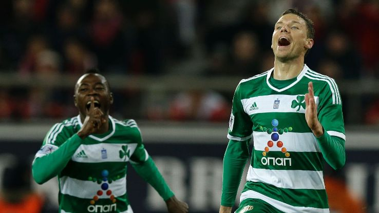 Marcus Berg celeb Greek league