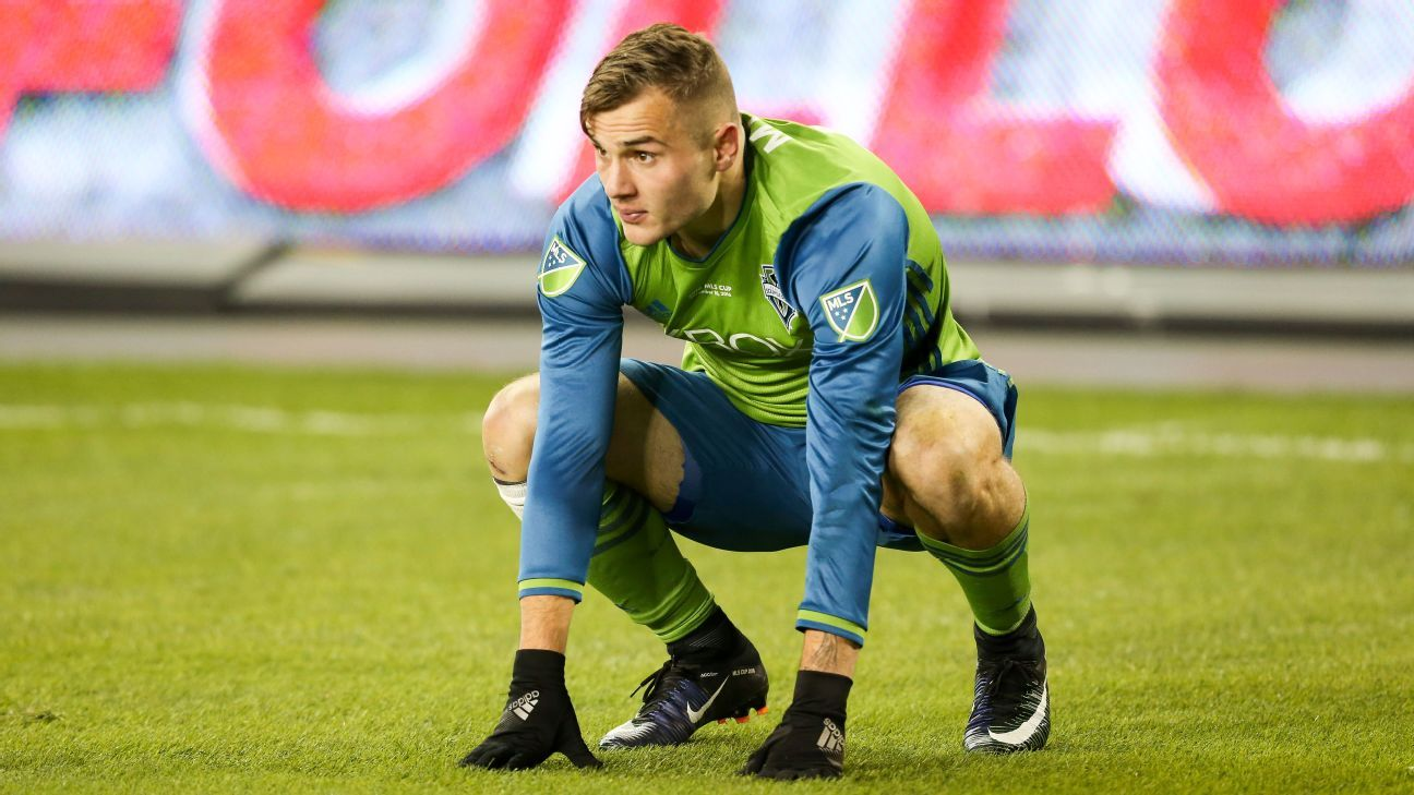 Jordan Morris ruled out for entire Seattle Sounders season