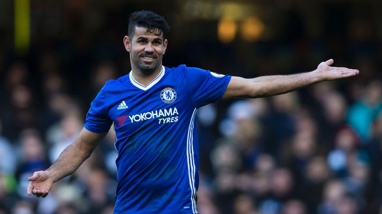 Chelsea Slavia Detail: Chelsea's Diego Costa N'Golo Kante Suspended For Premier