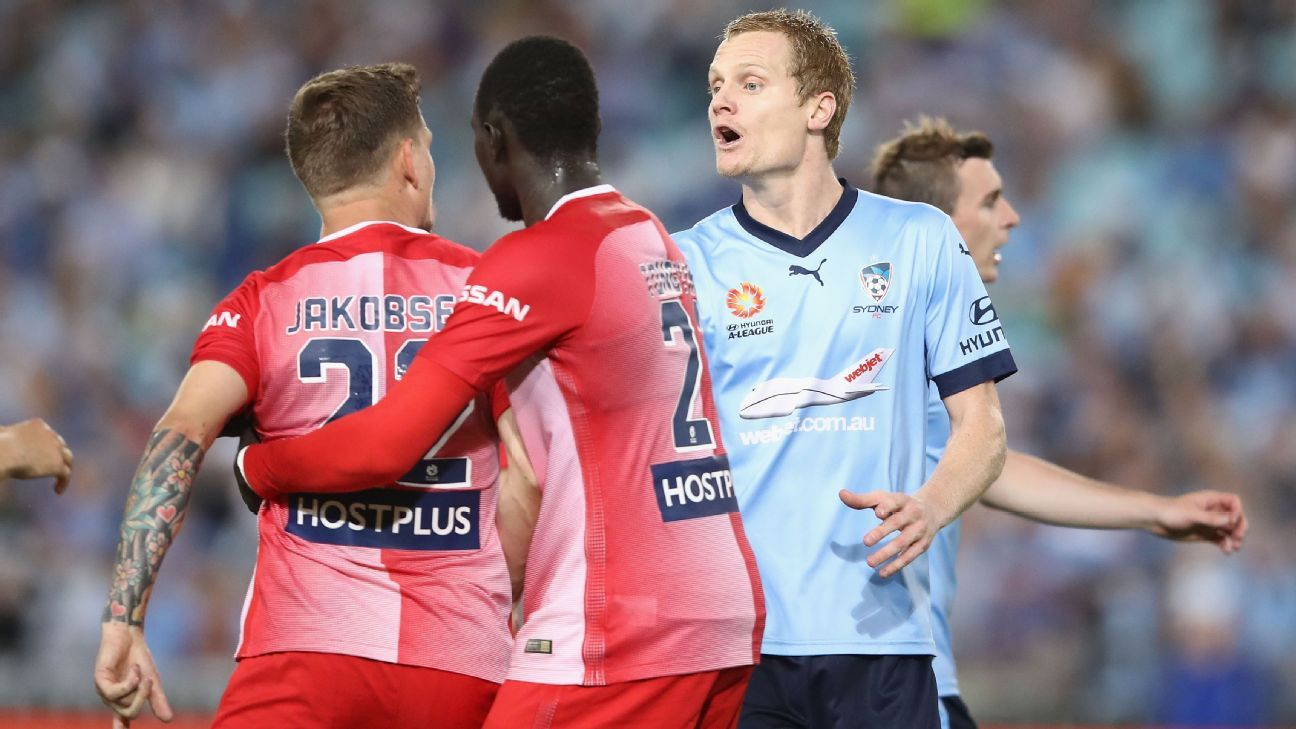Matt Simon Sydney FC confrontation