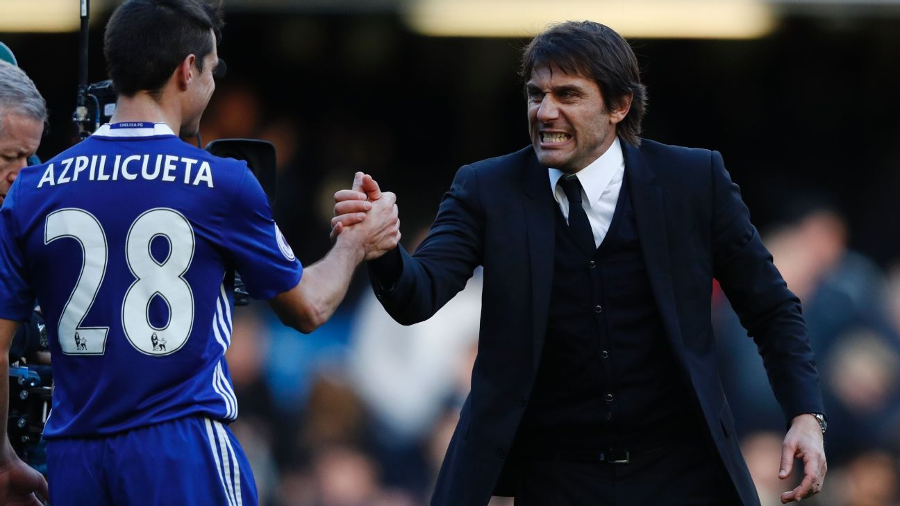 If Antonio Conte and Chelsea are to relinquish their lead, it will be an epic fall.