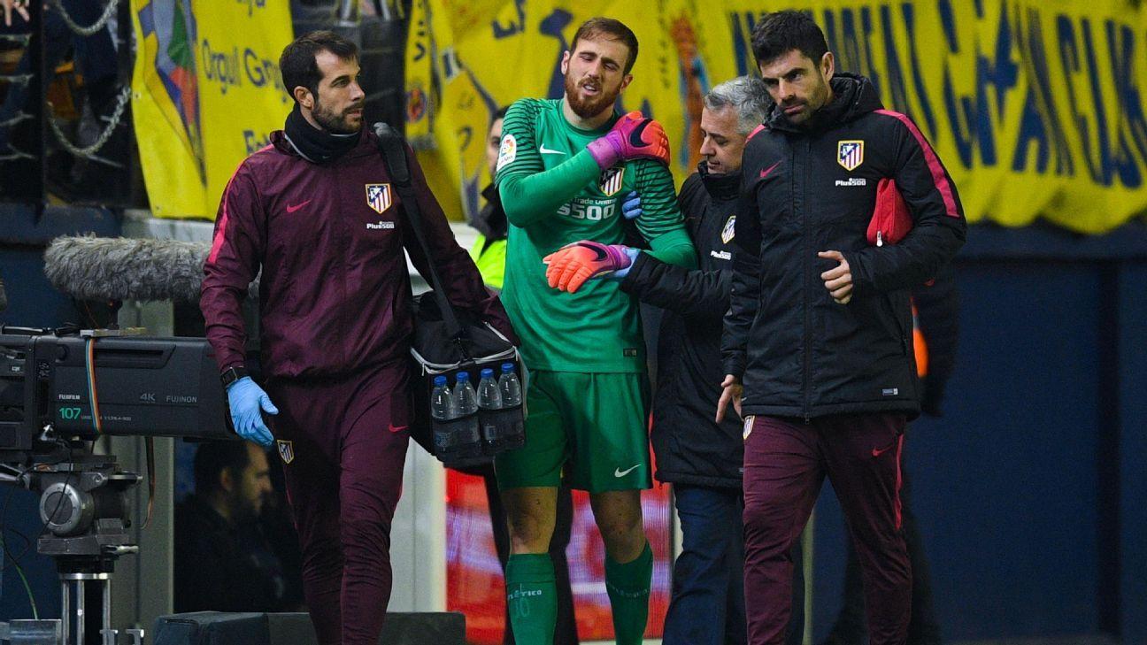 Jan Oblak injury