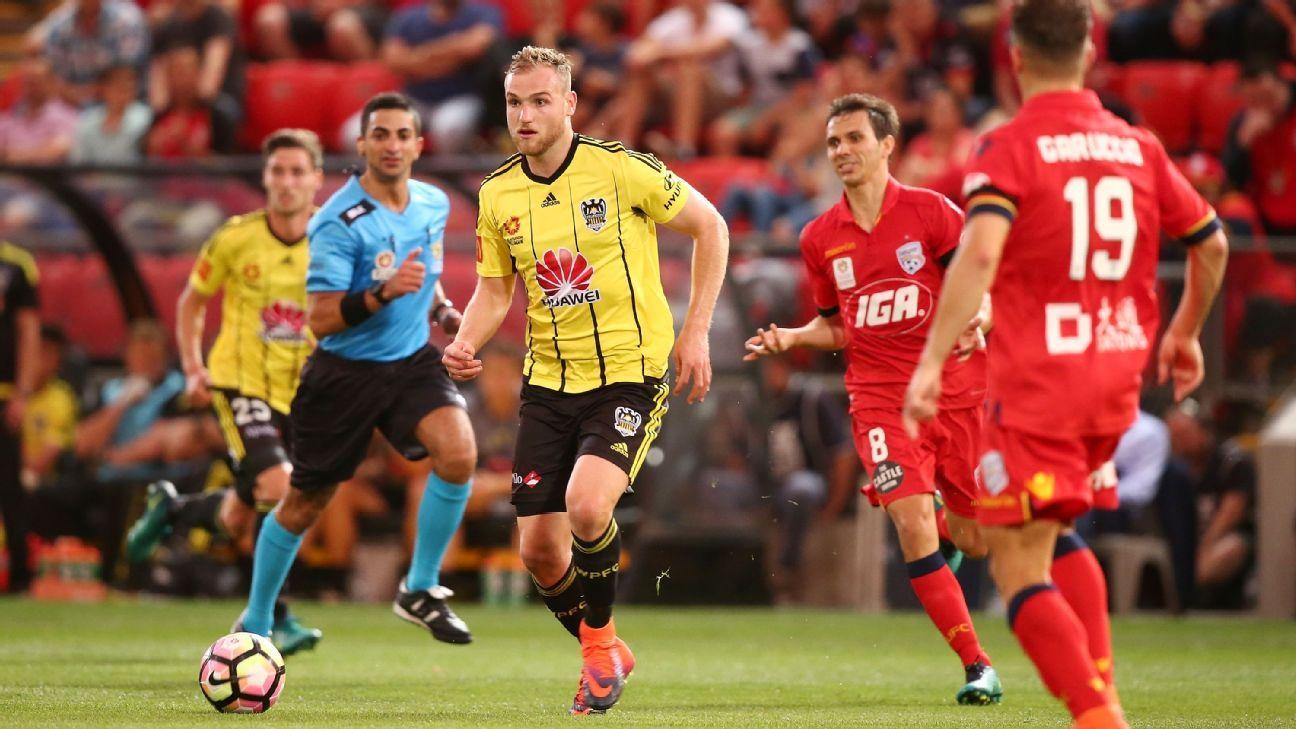 Wellington striker Hamish Watson