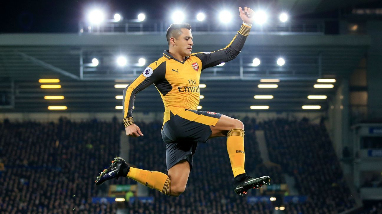Alexis Sanchez has made a habit of goal celebrations this season, but can he sustain that pace?