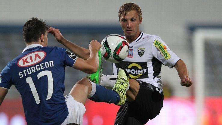 Altach's midfielder Philipp Netzer