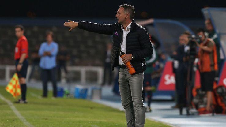 Altach's coach Damir Canadi