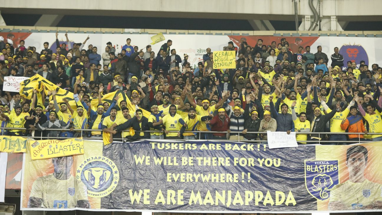 Kerala fans came in numbers and were at their loudest at the Jawaharlal Nehru stadium in Delhi.