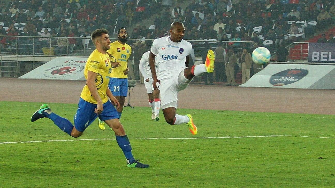 Malouda did all he could but he couldn't unlock a tight Kerala defence.