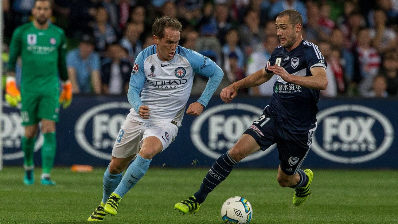 Melbourne City's Neil Kilkenny