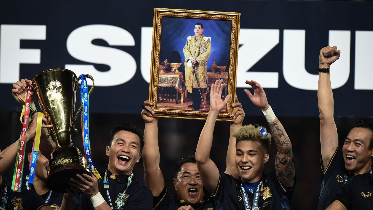 Thailand dedicate 2016 AFF success to King
