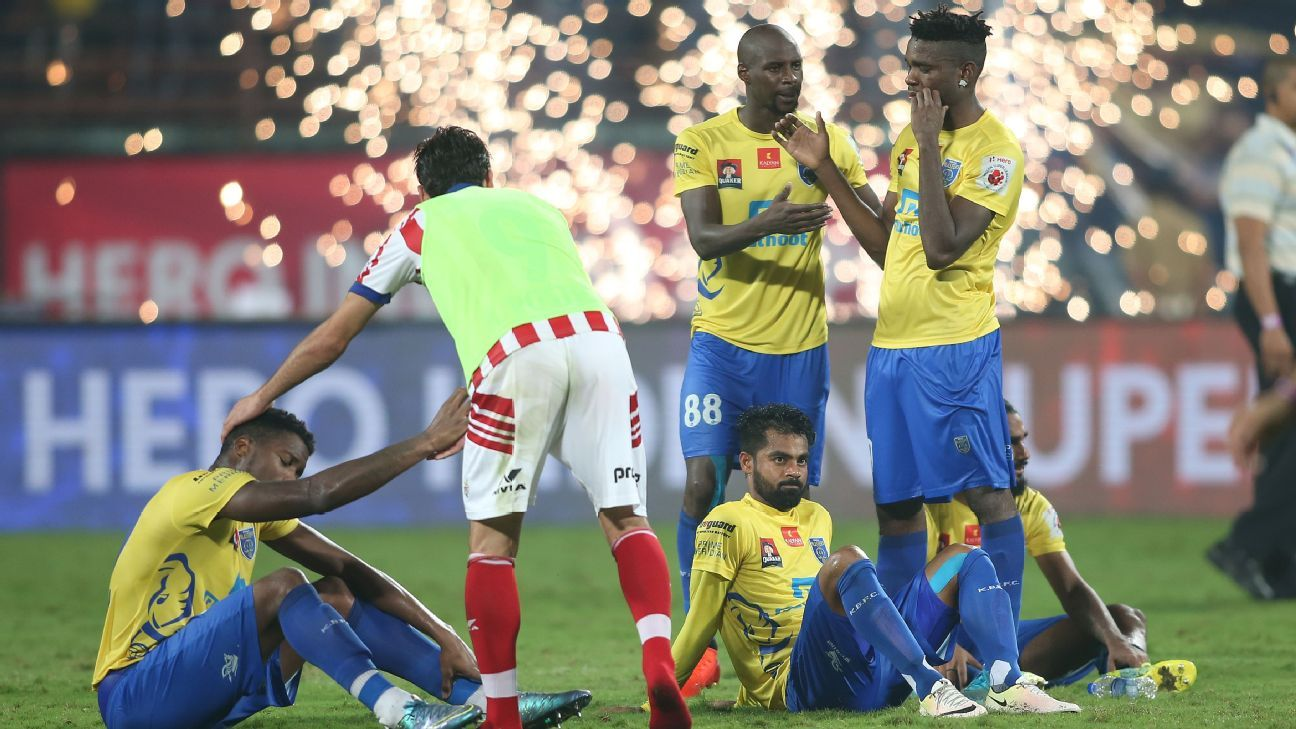 Kerala have finished runners-up twice and have lost to Atletico de Kolkata on both ocassions.