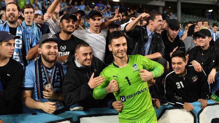 Sydney FC's Vedran Janjetovic