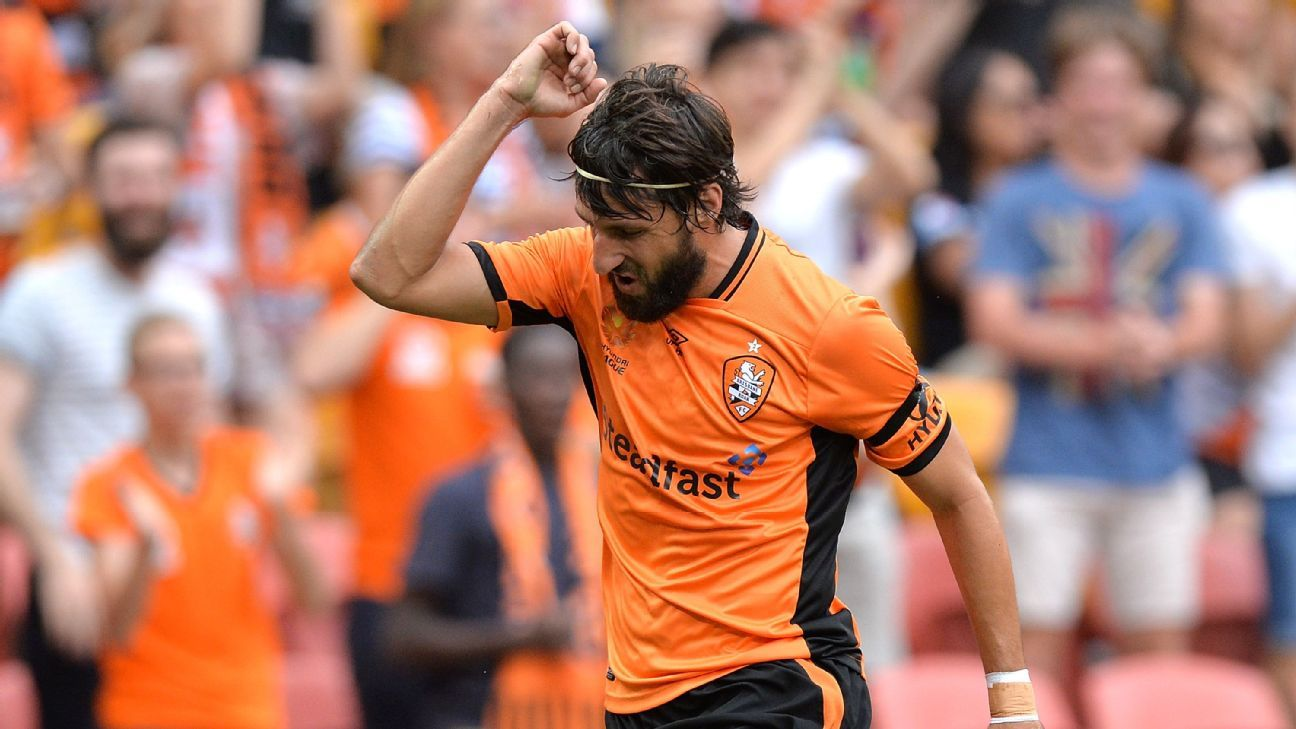 Brisbane Roar's Thomas Broich
