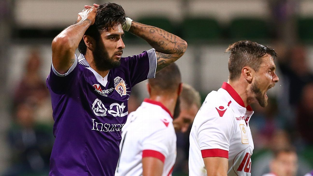 Perth Glory's Rhys Wiliams