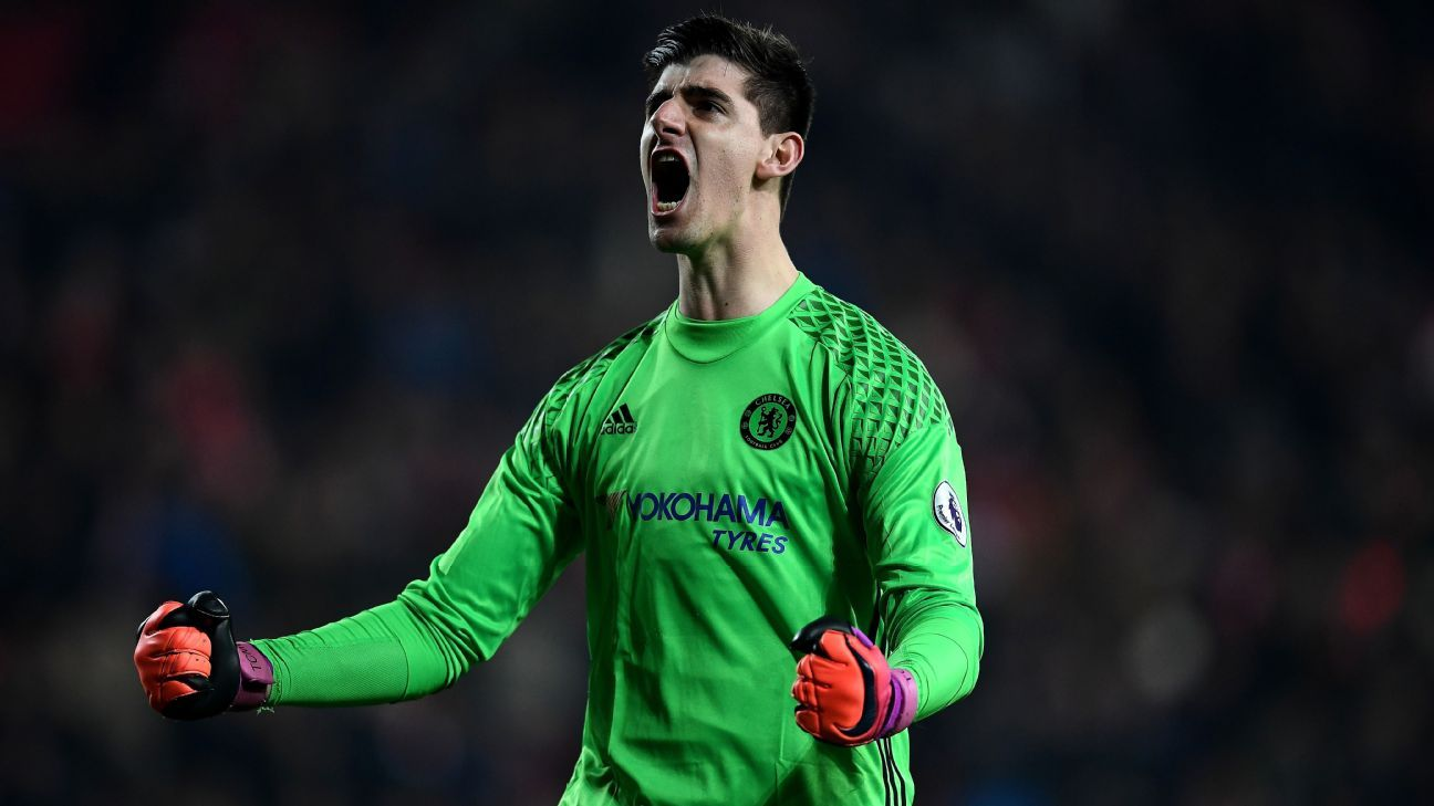 Real Madrid move for Thibaut Courtois would be no shock – Cesc Fabregas