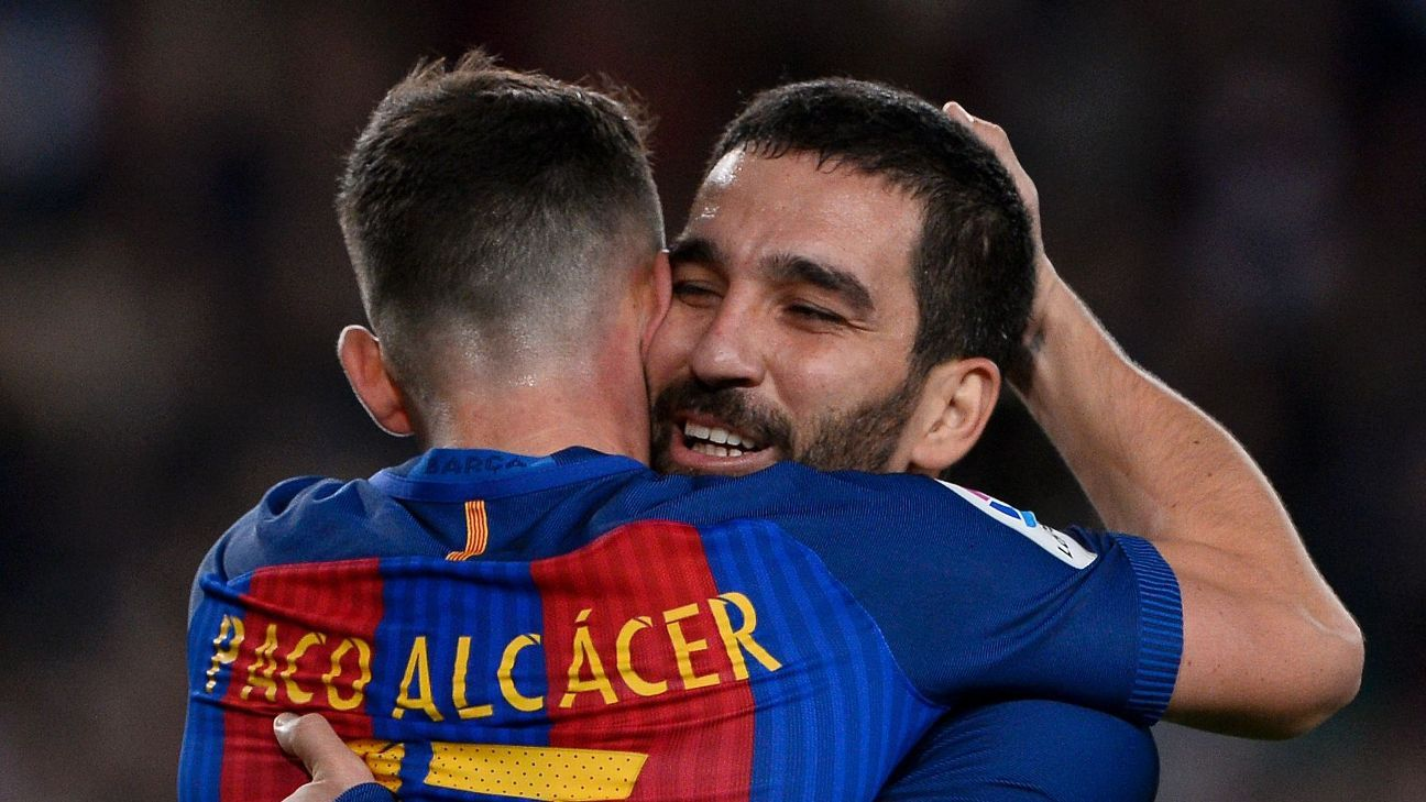 Paco Alcacer & Arda Turan