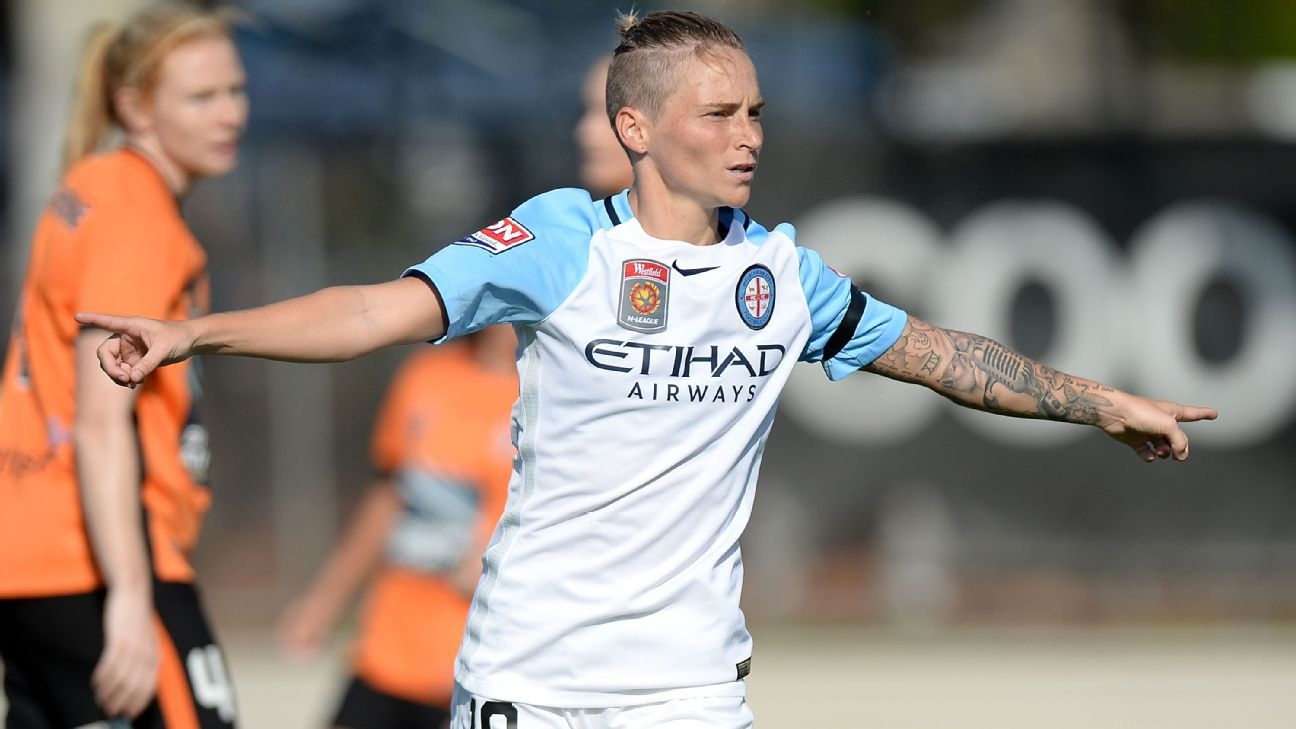 Melbourne City's Jess Fishlock